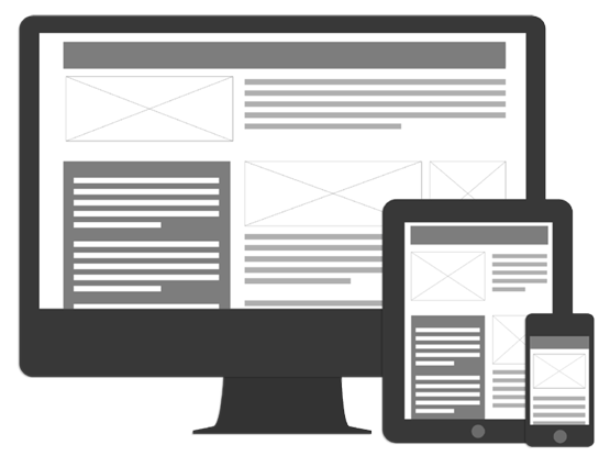 website layout png