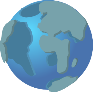 Website svg earth. World wide web globe