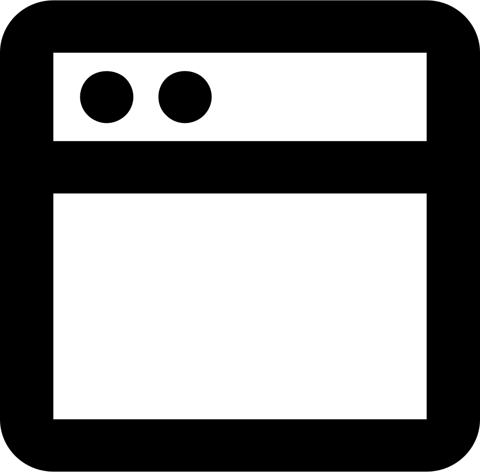 Website svg square. New png icon free