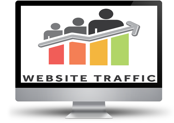 Website traffic png. How to boost organically