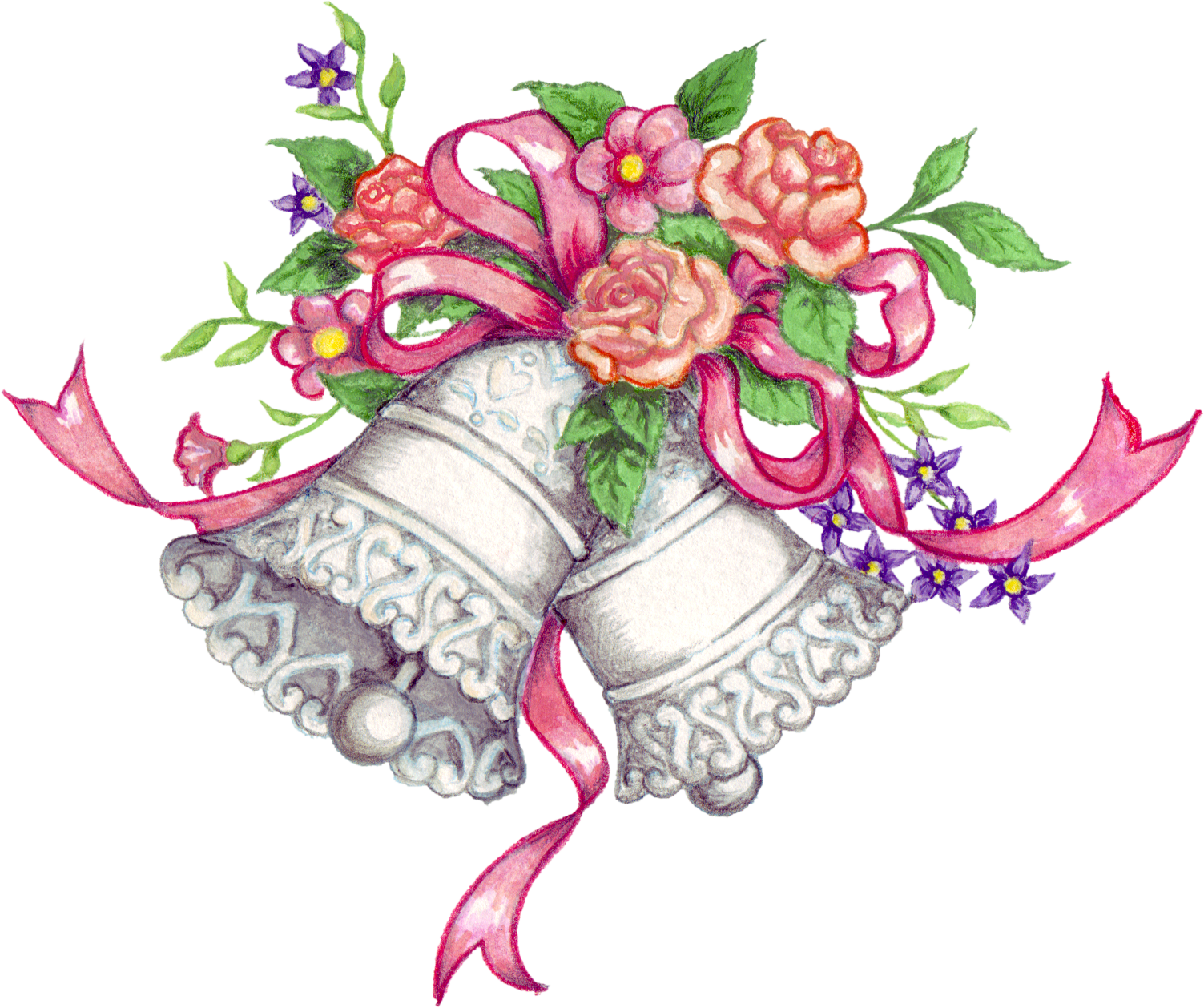 Wedding bell png. Free transparent files and