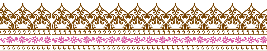 Wedding border design png. Transparent mart