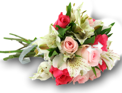 Wedding flowers PNG