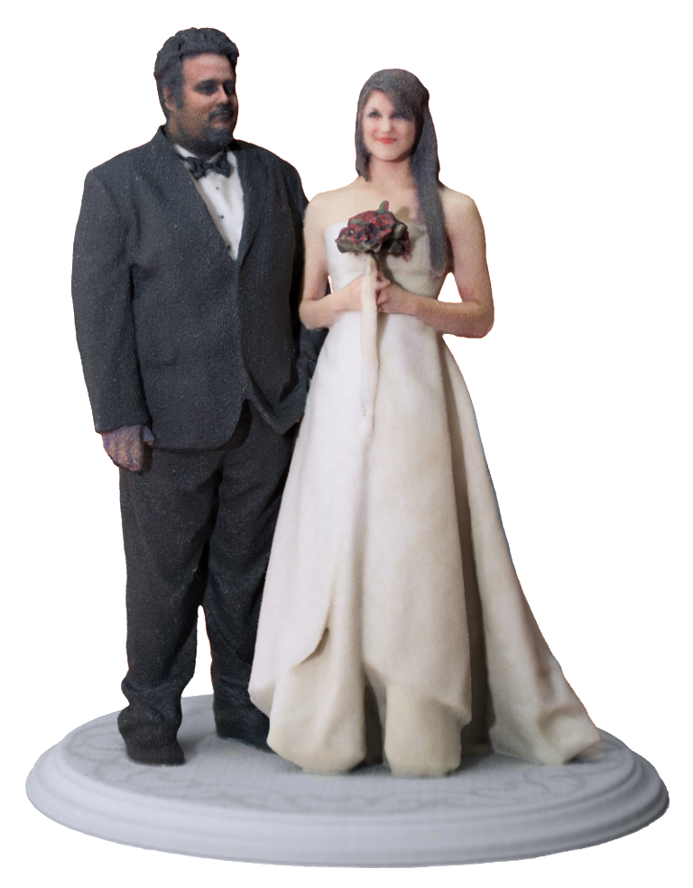 Wedding cake topper png. Toppers d printing naples