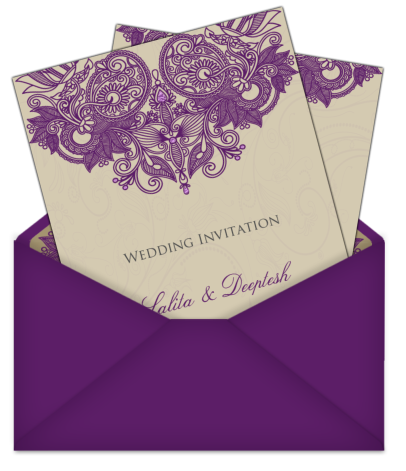 wedding card design png