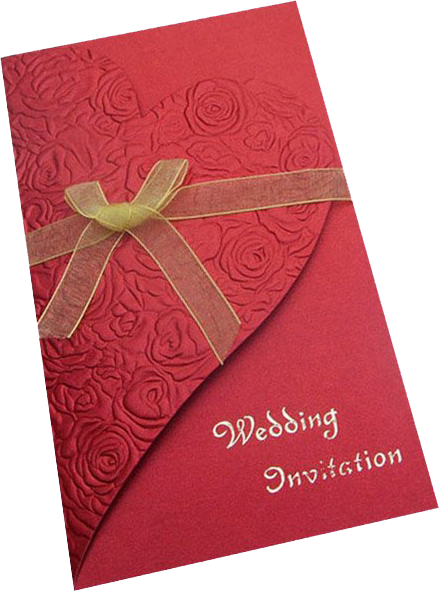 Wedding cards png. Hindu marriage invitation from