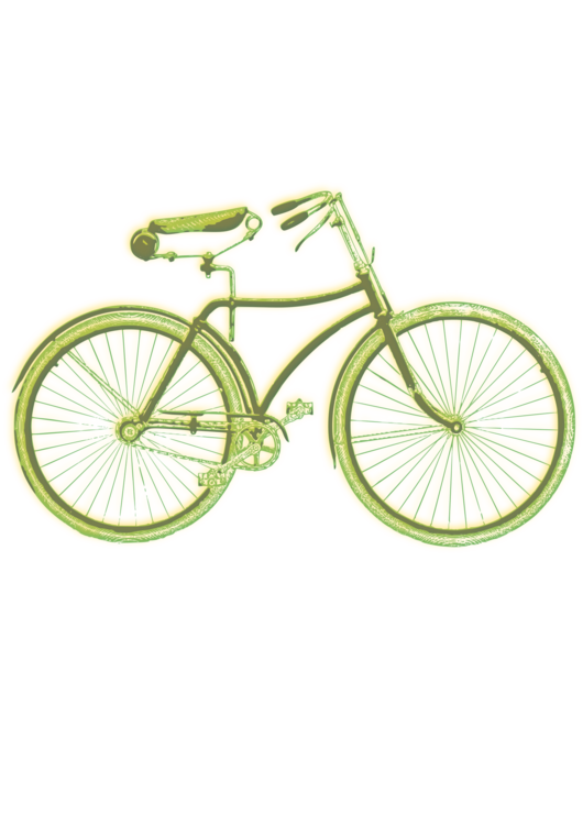 Cycle clipart old bicycle. T shirt cycling greeting