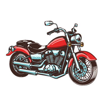 Motorbike png vectors psd. Vector motorcycles cruiser motorcycle picture library stock