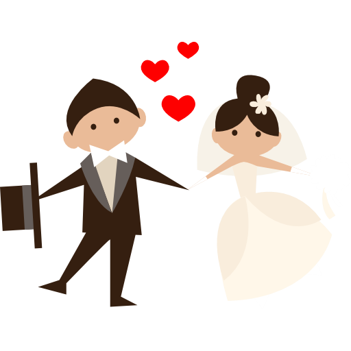 Wedding couple cartoon png. Gallery tips ideas
