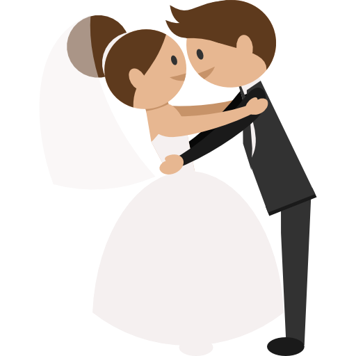 Cute couple png. Wedding groom bride pictures