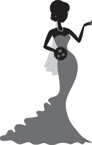 Bride clipart married woman. Brides by bravura bringing
