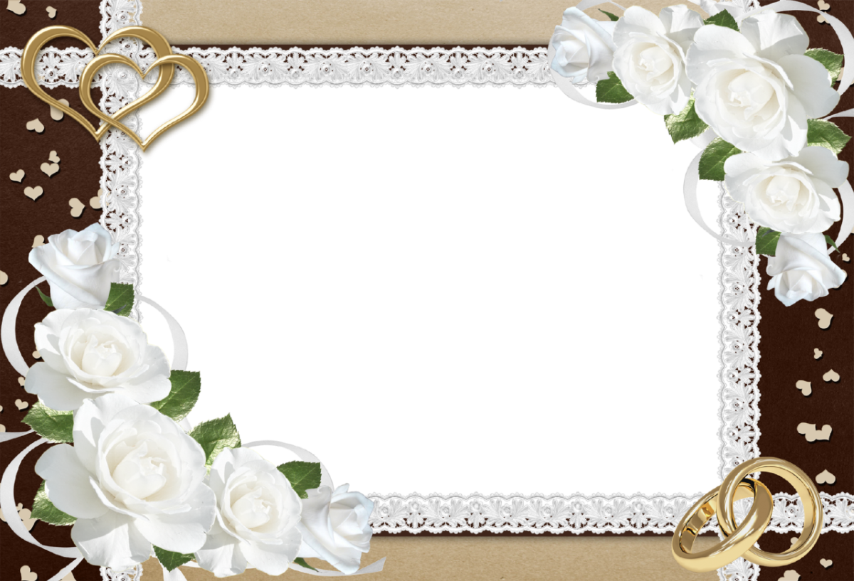 Wedding frames png free download. Frame transparent images all