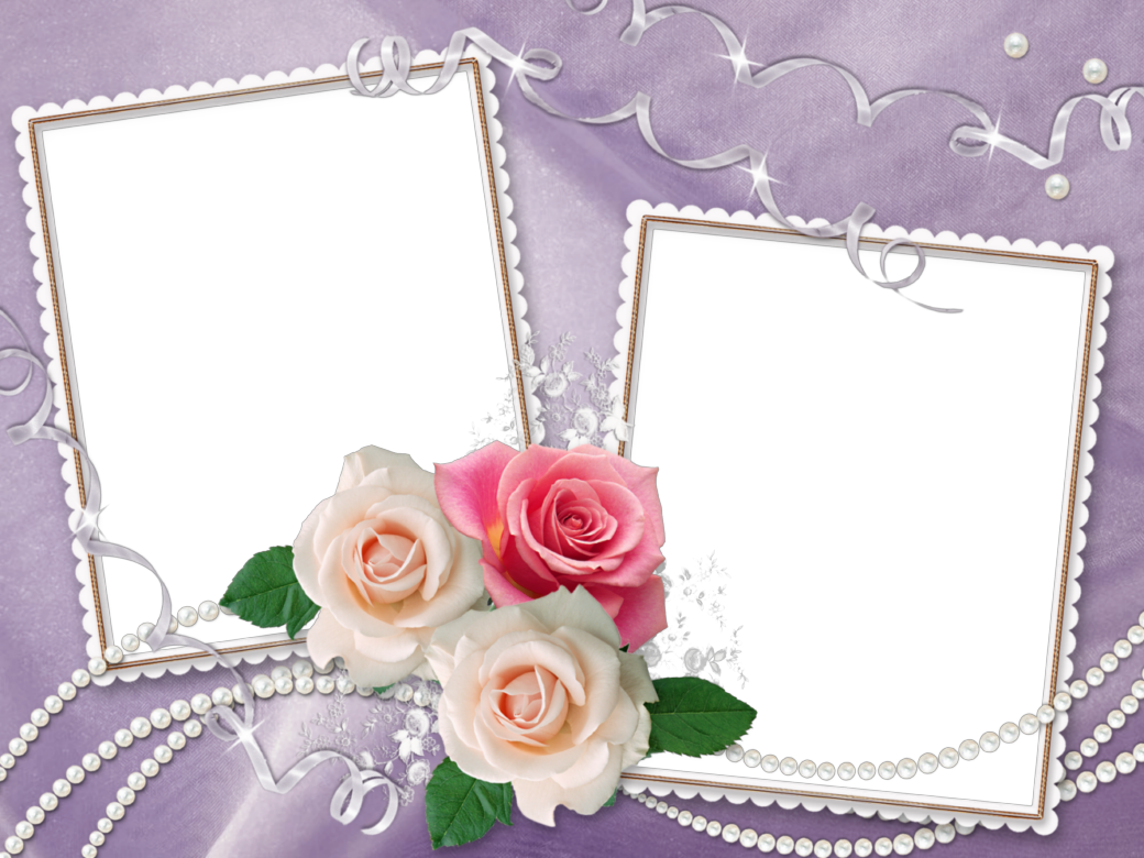 Wedding frames png free download. Purple transparent frame with
