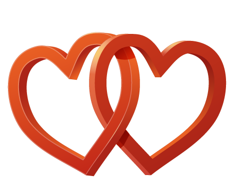 Wedding heart png. File mart
