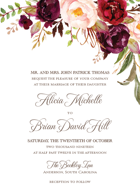 Wedding invitations png. Autumn socialgeist net paperwhites