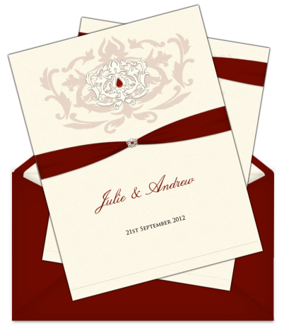 Wedding invitations png. Letter style email invitation