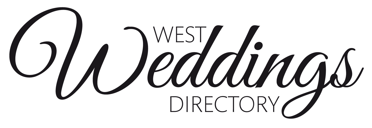Wedding logo png. West weddings your local