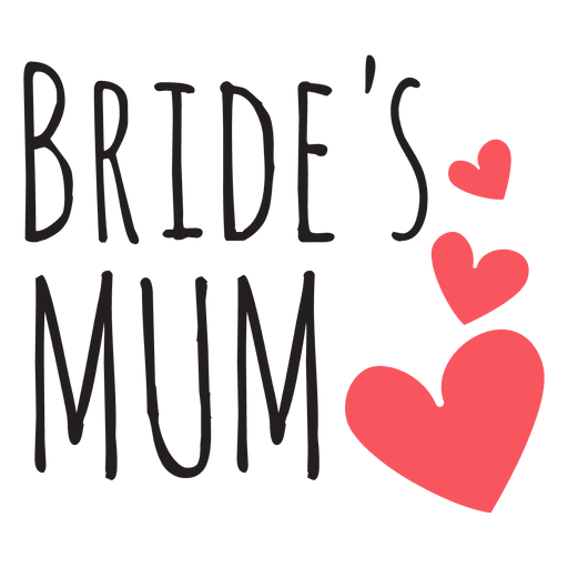Bride mum wedding quote