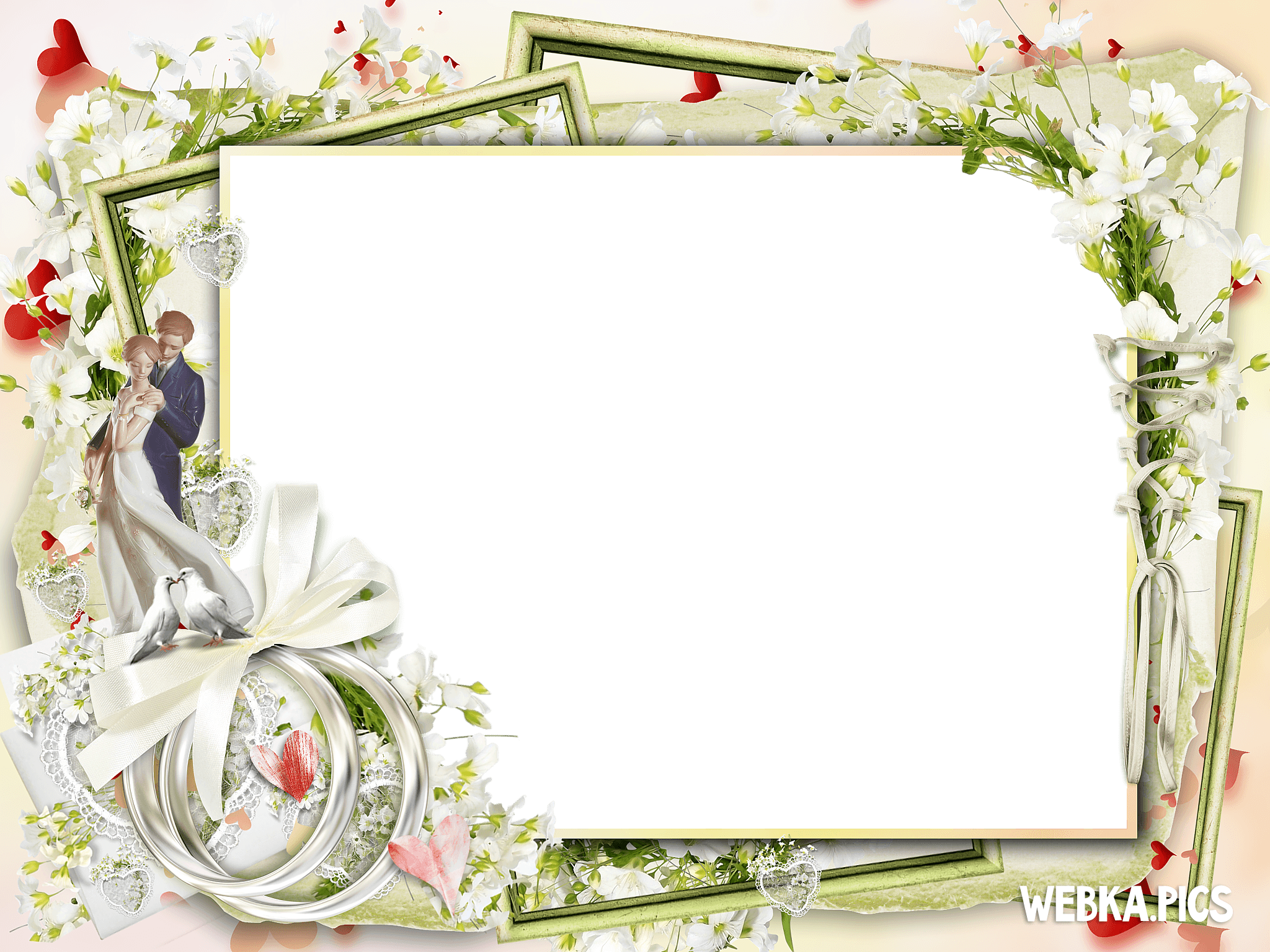 20 Wedding Png Frames For Free Download On Ya Webdesign