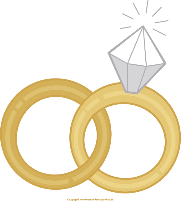 wedding rings clipart png #72449500