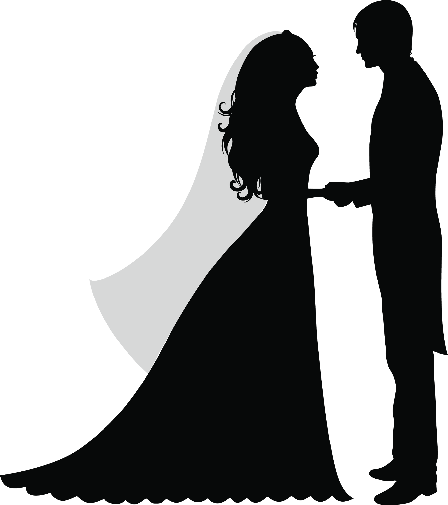 Wedding silhouette png. Casamento pinterest stenciling silhouettes