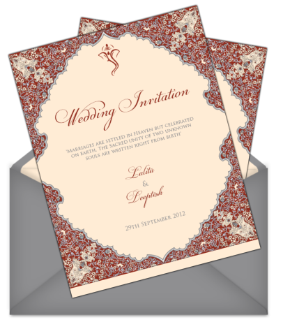 Wedding templates png. Invitations for indian weddings