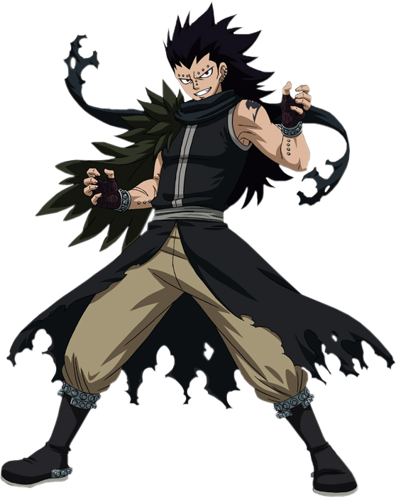 Wedgie drawing fairy tail. Gajeel redfox