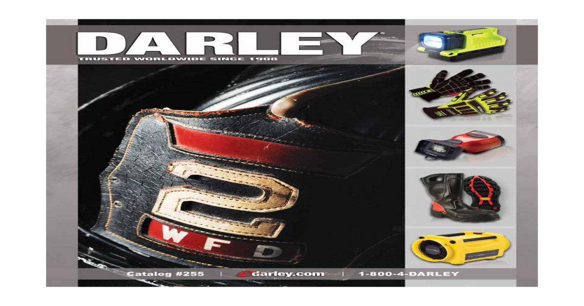 Wedgie drawing flagpole. Darley equipment catalog