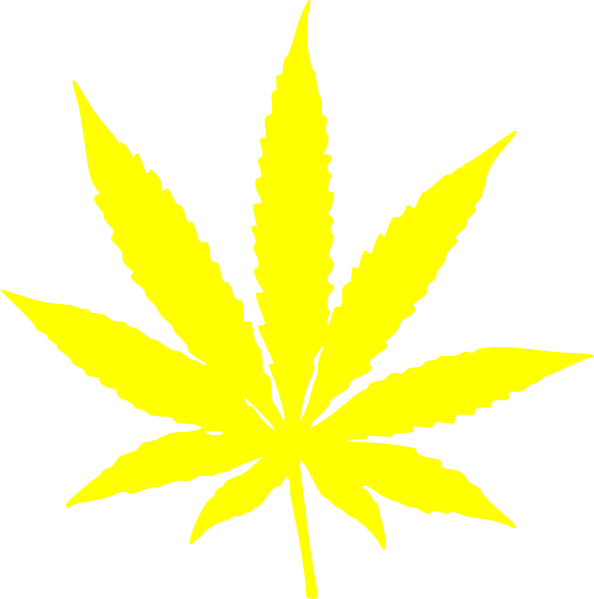 Weeds drawing symbol. Cannabis leaf stars and