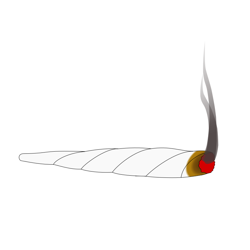 Weed joint png. Clipart animation of a