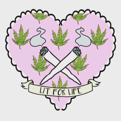 Stoner girl tumblr is. Weeds clipart aesthetic vector library
