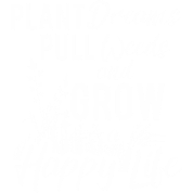 Weeds drawing life. Weed plant dreams pull