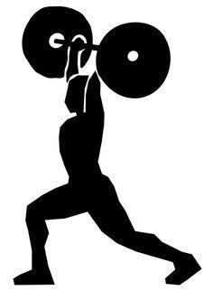 Weight clipart svg. Woman muscle up google
