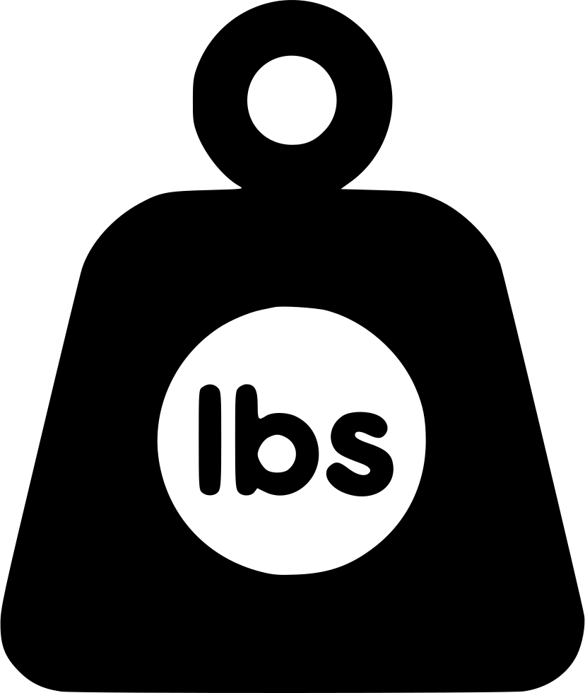 Weight clipart svg. Lbs png icon free