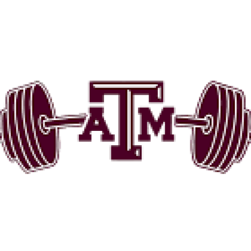 Weightlifter drawing sport man. Texas a m powerlifting