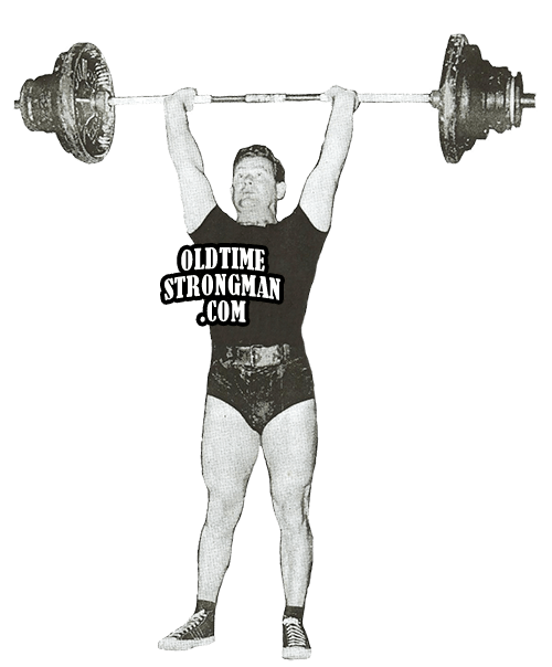 Weightlifter drawing olympic weightlifting. History archives page of