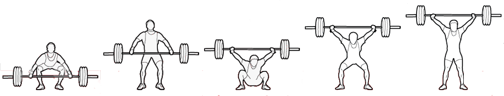 Weightlifter drawing olympic weightlifting. Lifts canadian masters federation