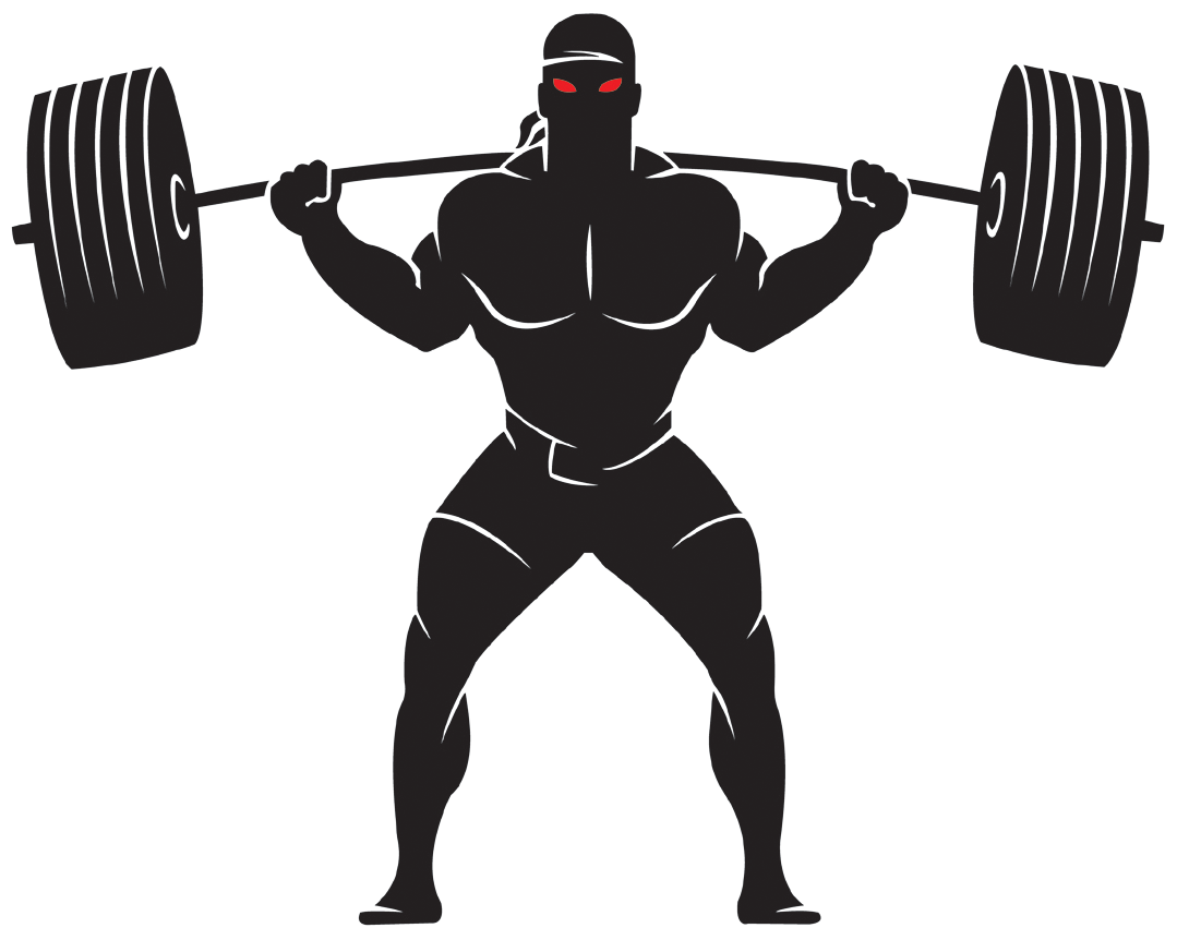 Weightlifter drawing dumbell. Dumbbells clipart powerlifting clip