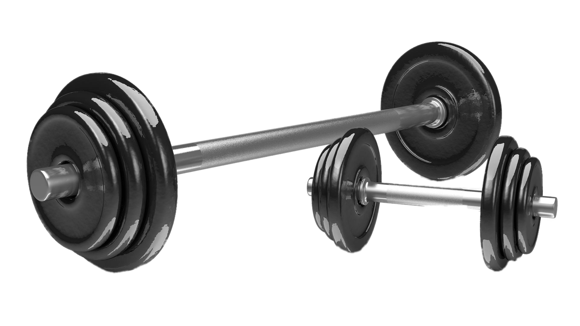 Barbell transparent weightlifting. Weights png images stickpng