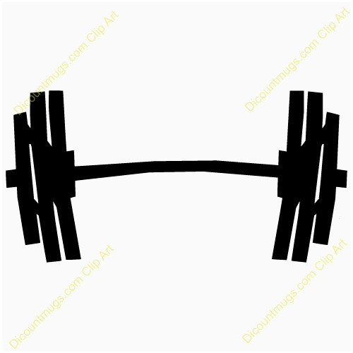 Weights clipart. Weightlifting free lovely weight