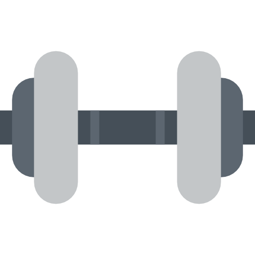 Weights clipart exercise tool. Sports and competition dumbbell