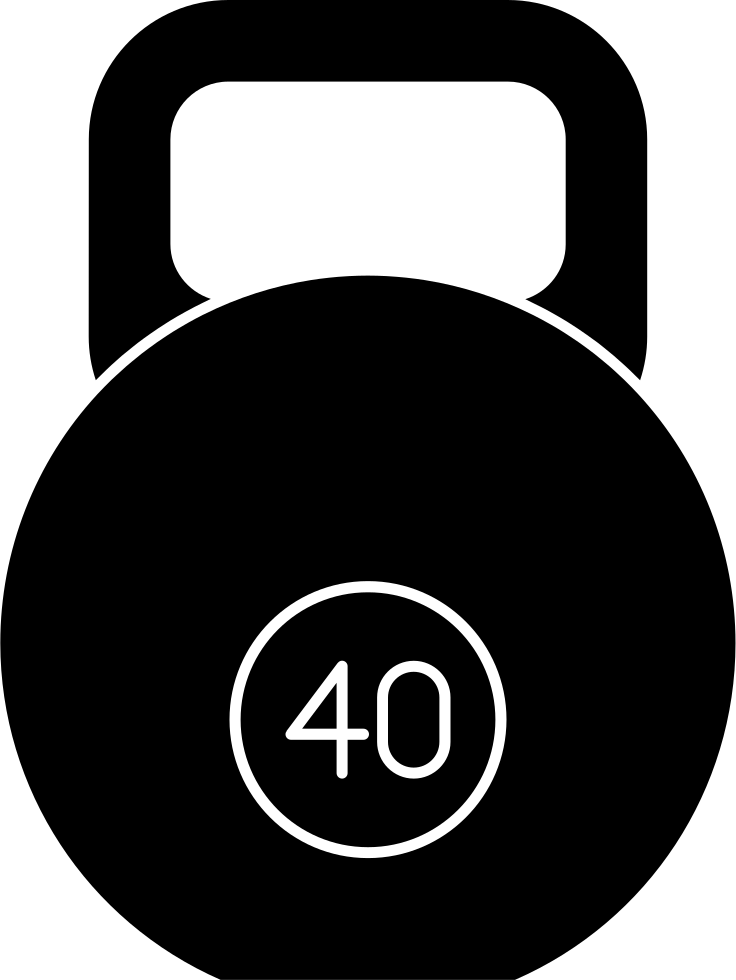 Weights svg handle. Circular with png icon