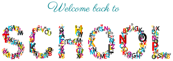 Welcome border png. Back to school clipart