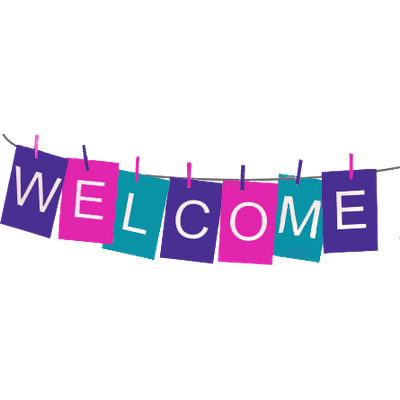welcome sign png