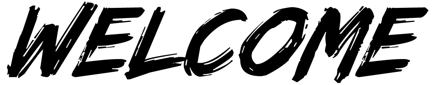 Transparent welcome black. Image png the breaker