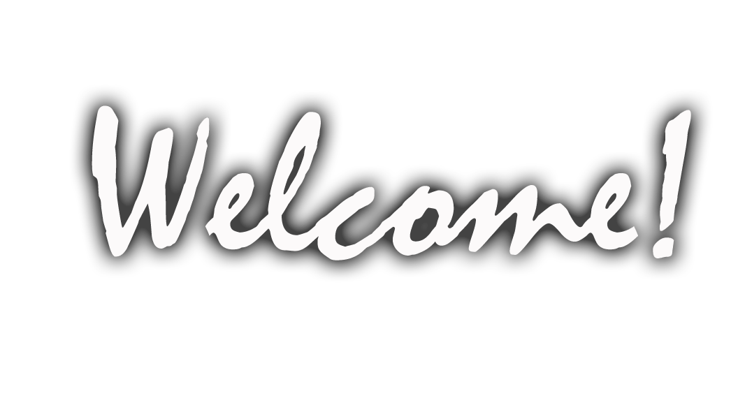 Transparent welcome white. To kodikraze