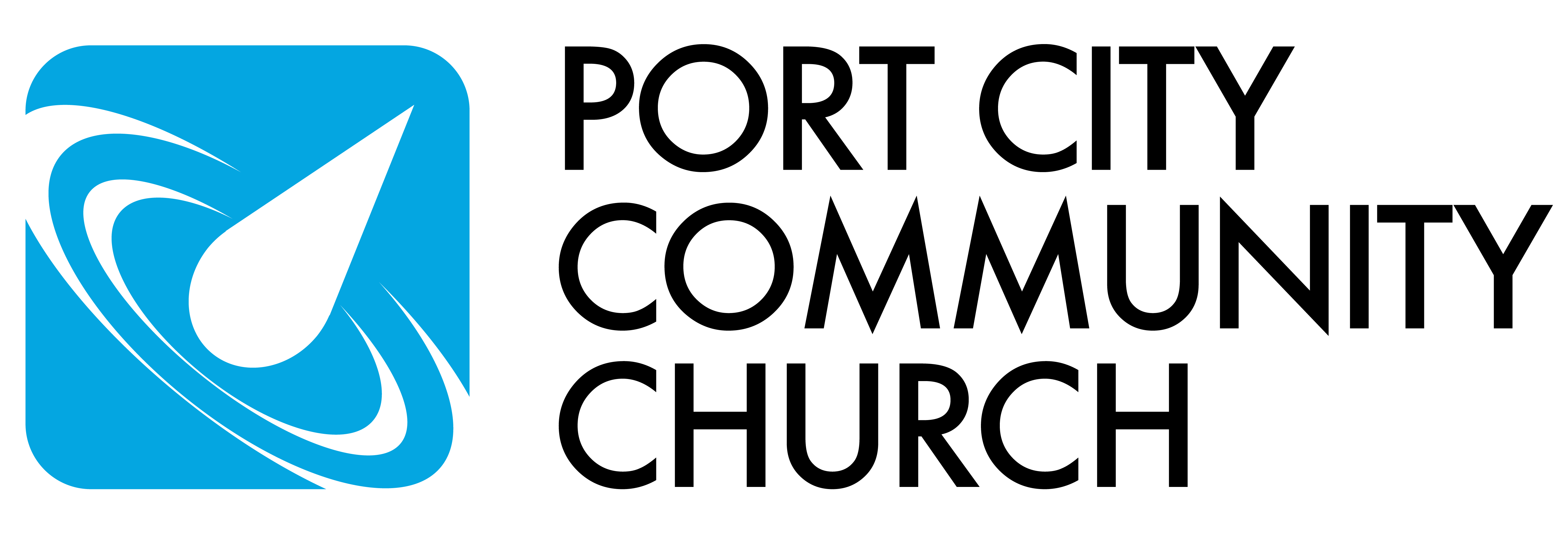 Welcome to our church png. Port city community pc