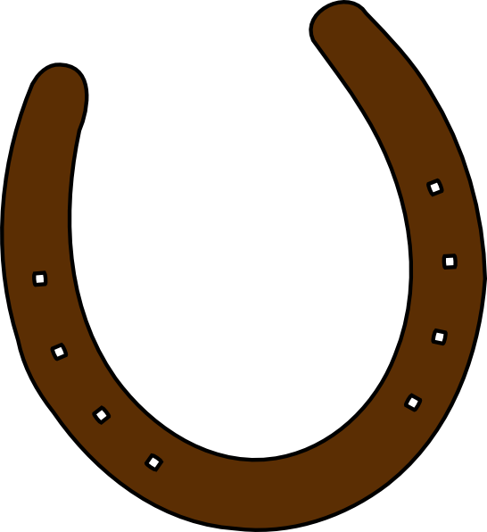 Western clip art png. Cowboy brown horseshoe vector