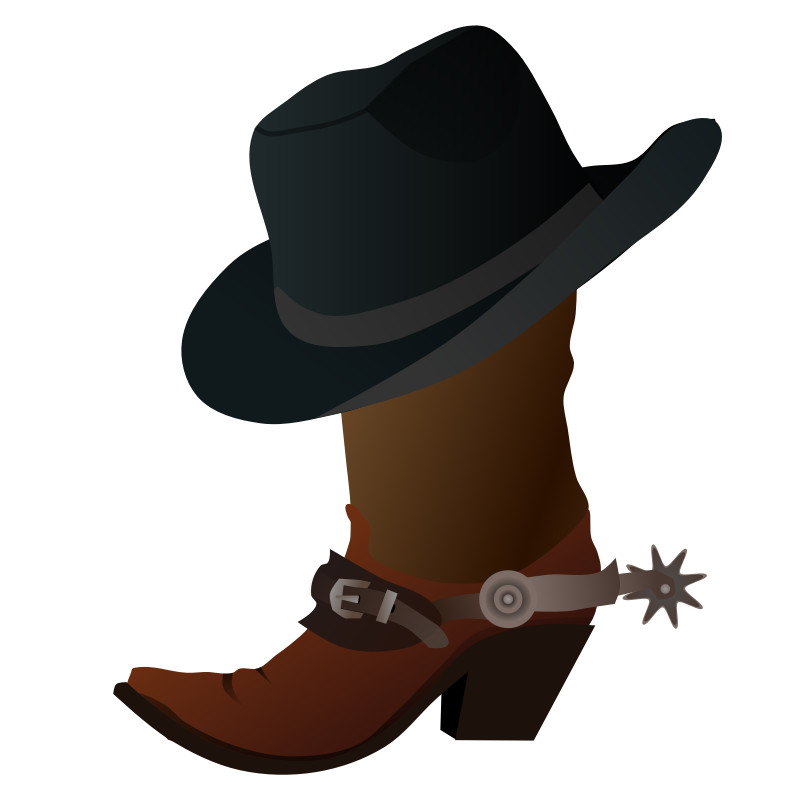 Western clipart face. Free cowboy images download
