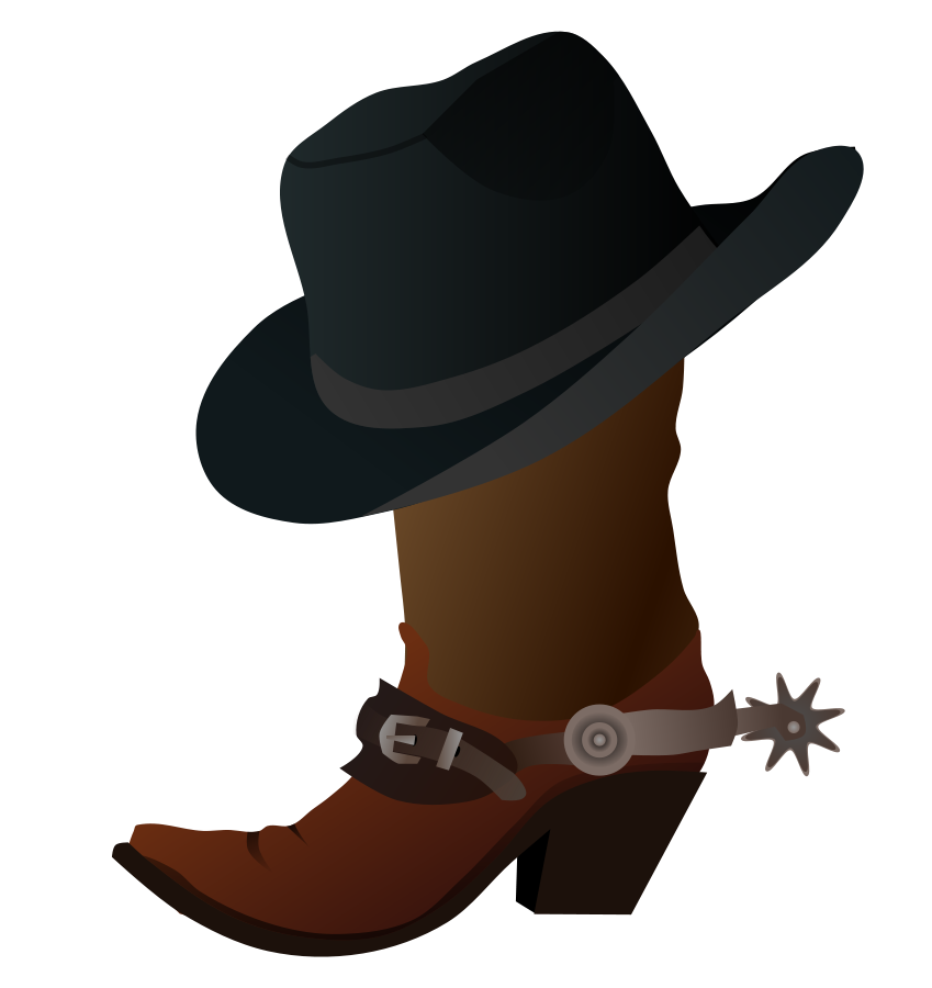 Vector cowboy cartoon